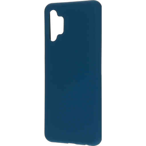 Mobiparts Silicone Cover Samsung Galaxy A32 (2021) 5G Blueberry Blue