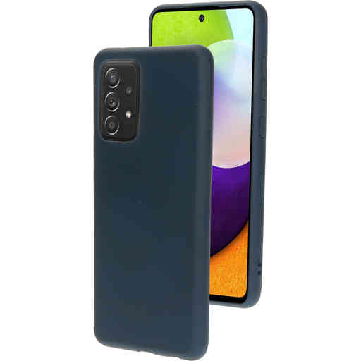 Mobiparts Silicone Cover Samsung Galaxy A52 (2021) Blueberry Blue