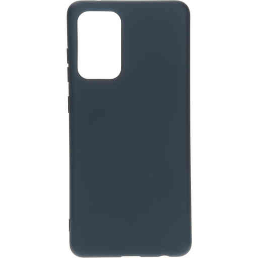 Mobiparts Silicone Cover Samsung Galaxy A72 (2021) 4G/5G Blueberry Blue