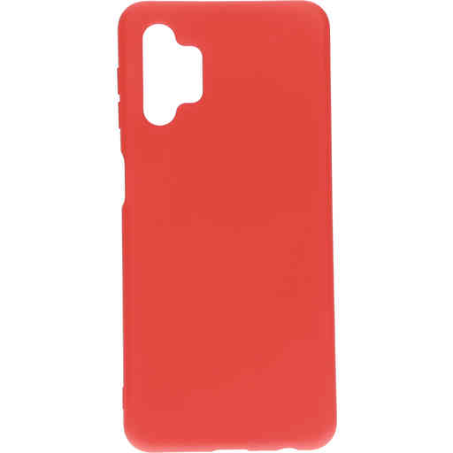 Mobiparts Silicone Cover Samsung Galaxy A32 (2021 5G) Scarlet Red