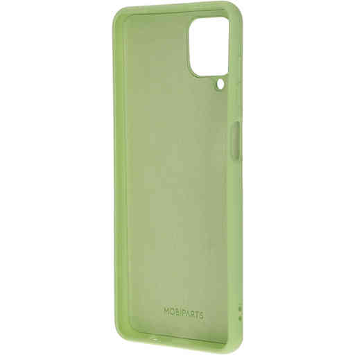 Mobiparts Silicone Cover Samsung Galaxy A12 (2021) Pistache Green