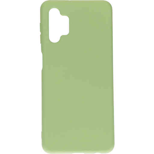 Mobiparts Silicone Cover Samsung Galaxy A32 5G (2021) Pistache Green