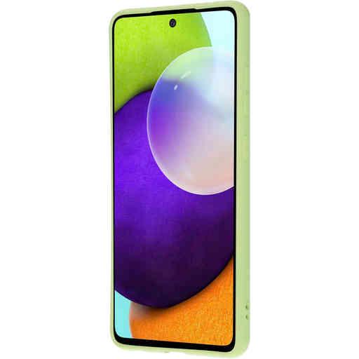 Mobiparts Silicone Cover Samsung Galaxy A52 (2021) Pistache Green
