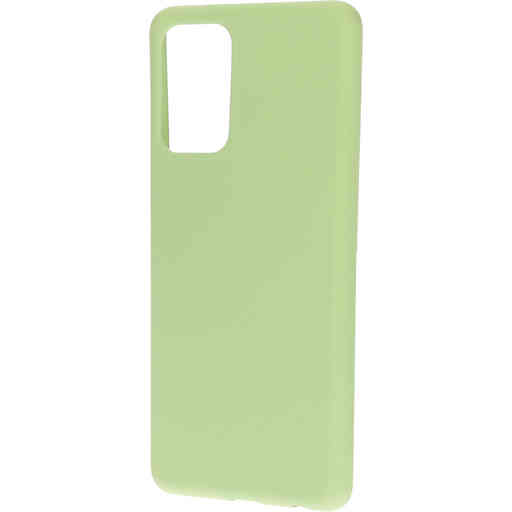 Mobiparts Silicone Cover Samsung Galaxy A72 (2021) 4G/5G Pistache Green