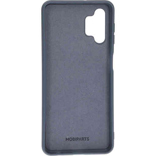 Mobiparts Silicone Cover Samsung Galaxy A32 (2021) 5G Royal Grey