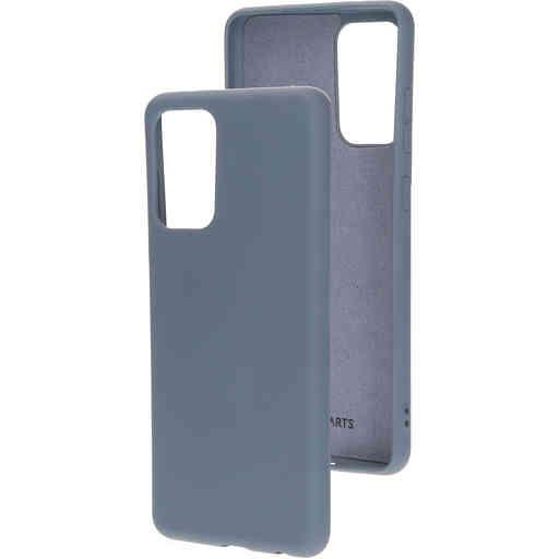 Mobiparts Silicone Cover Samsung Galaxy A72 (2021) 4G/5G Royal Grey