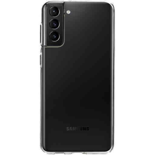 Mobiparts Classic TPU Case Samsung Galaxy S21 Plus Transparent