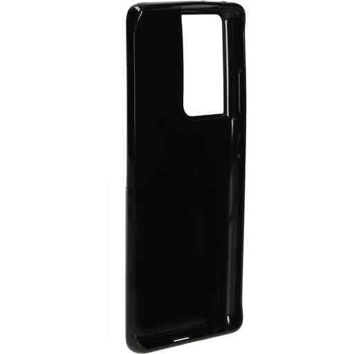 Mobiparts Classic TPU Case Samsung Galaxy S21 Ultra Black