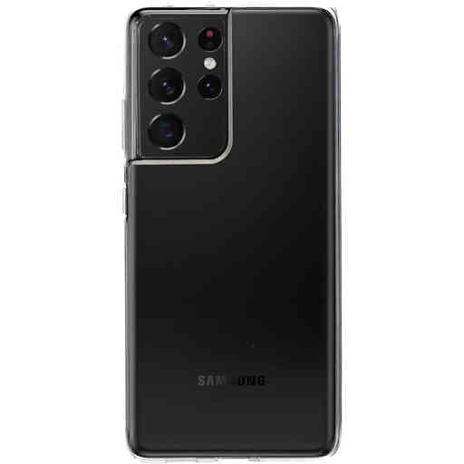 Mobiparts Classic TPU Case Samsung Galaxy S21 Ultra Transparent