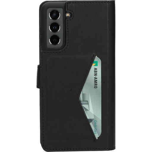 Mobiparts Classic Wallet Case Samsung Galaxy S21 Black