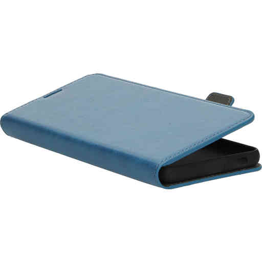 Mobiparts Classic Wallet Case Samsung Galaxy S21 Plus Steel Blue
