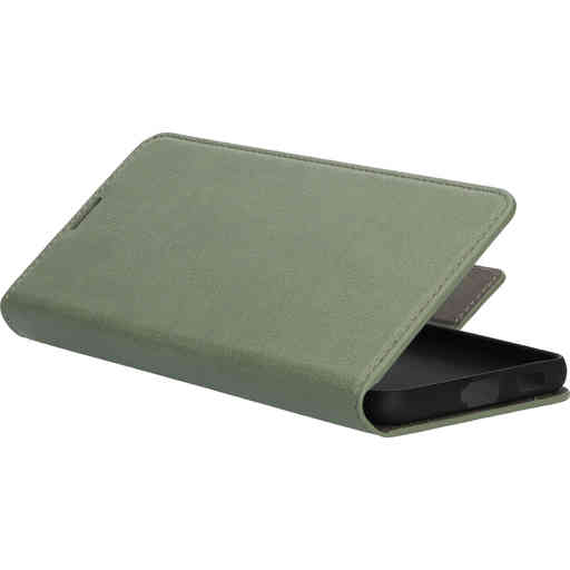 Mobiparts Classic Wallet Case Samsung Galaxy S21 Plus Stone Green