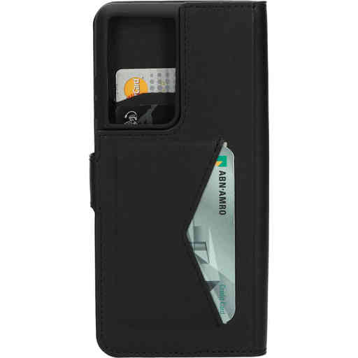 Mobiparts Classic Wallet Case Samsung Galaxy S21 Ultra Black