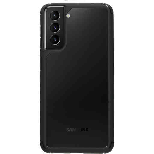 Mobiparts Rugged Clear Case Samsung Galaxy S21 Plus Black