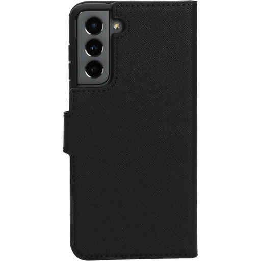 Mobiparts Saffiano Wallet Case Samsung Galaxy S21 Black