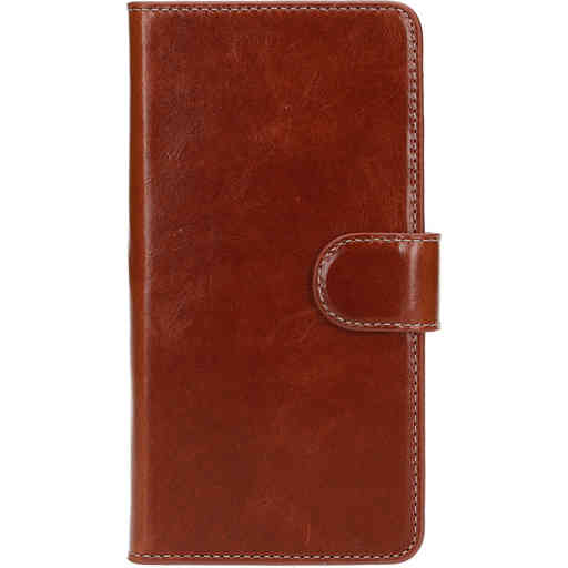 Mobiparts Excellent Wallet Case 2.0 Samsung Galaxy S21 Oaked Cognac