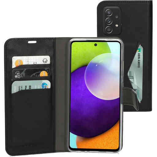 Mobiparts Classic Wallet Case Samsung Galaxy A52 (2021) 4G/5G Black