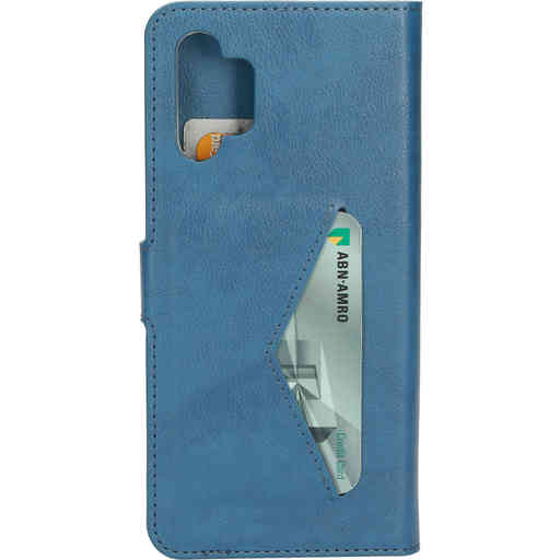 Mobiparts Classic Wallet Case Samsung Galaxy A32 (2021) 5G Steel Blue