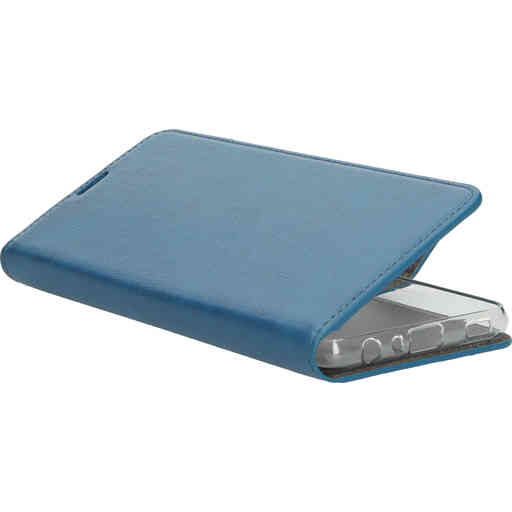 Mobiparts Classic Wallet Case Samsung Galaxy A72 (2021) 4G/5G Steel Blue
