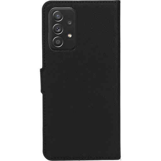 Mobiparts Saffiano Wallet Case Samsung Galaxy A52 (2021) 4G/5G Black