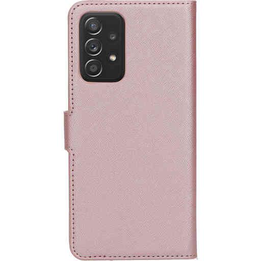 Mobiparts Saffiano Wallet Case Samsung Galaxy A52 (2021) 4G/5G Pink