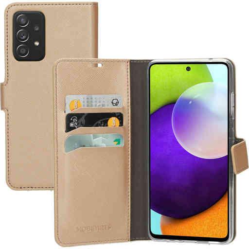 Mobiparts Saffiano Wallet Case Samsung Galaxy A52 (2021) 4G/5G Copper