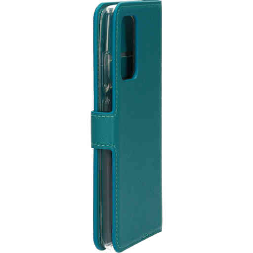 Mobiparts Saffiano Wallet Case Samsung Galaxy A52 (2021) 4G/5G Turquoise