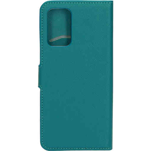 Mobiparts Saffiano Wallet Case Samsung Galaxy A72 (2021) 4G/5G Turquoise