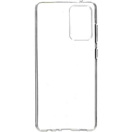Mobiparts Classic TPU Case Samsung Galaxy A72 (2021) Transparent