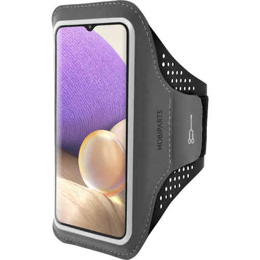 Mobiparts Comfort Fit Sport Armband Samsung Galaxy A32 (2021) 5G Black