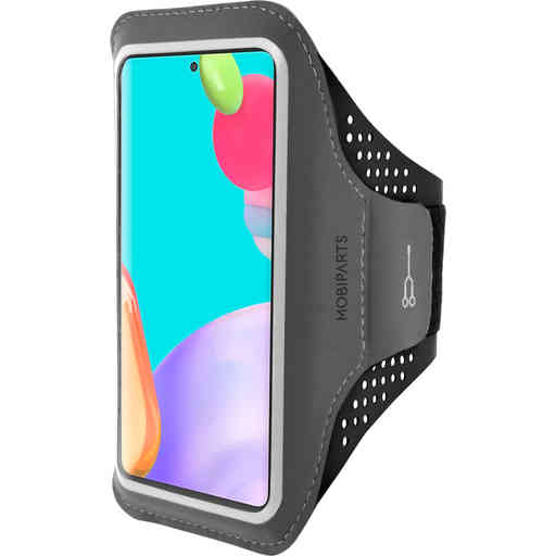 Mobiparts Comfort Fit Sport Armband Samsung Galaxy A52 (2021) 4G/5G Black