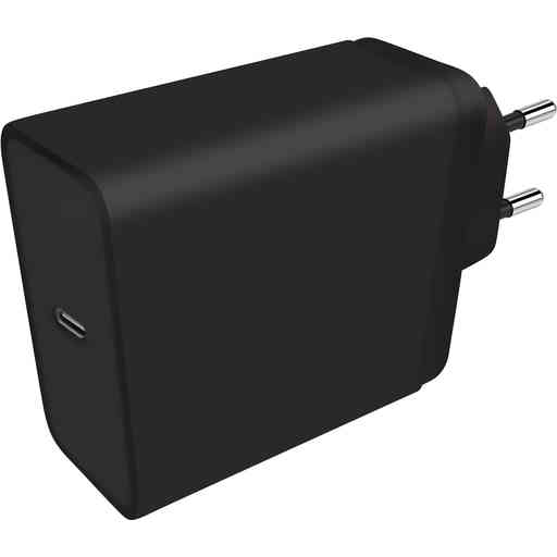 Mobiparts Wall Charger USB-C 20w Black (with PD)