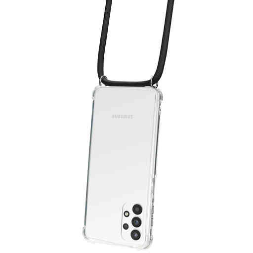 Mobiparts Lanyard Case Samsung Galaxy A32 5G (2021) Black Cord