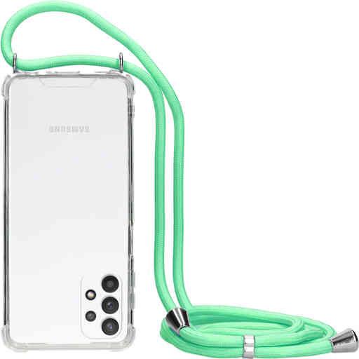 Mobiparts Lanyard Case Samsung Galaxy A32 5G (2021) Green Cord