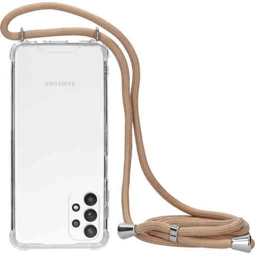 Mobiparts Lanyard Case Samsung Galaxy A32 5G (2021) Nude Cord