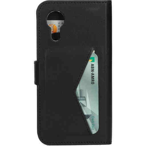 Mobiparts Classic Wallet Case Samsung Galaxy Xcover 5 Black