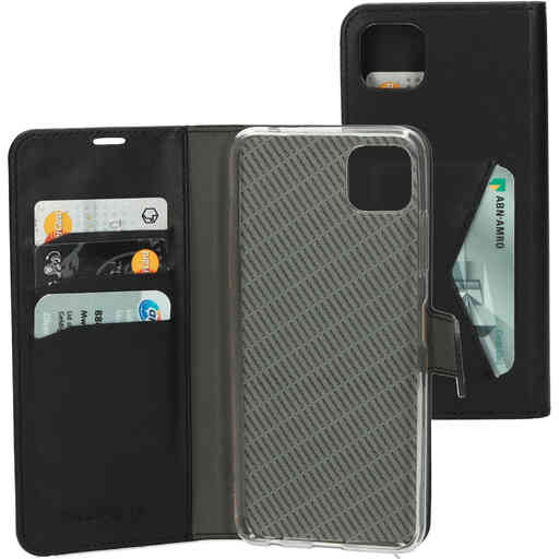 Mobiparts Classic Wallet Case Samsung Galaxy A22 5G (2021) Black