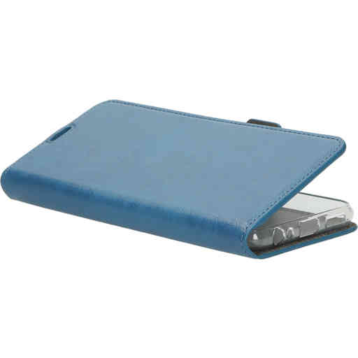 Mobiparts Classic Wallet Case Samsung Galaxy A22 5G (2021) Steel Blue