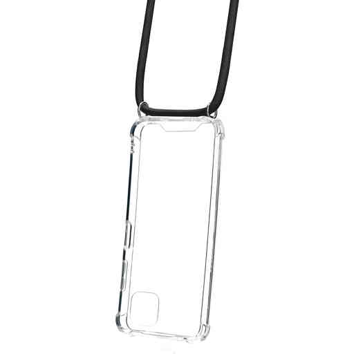Mobiparts Lanyard Case Samsung Galaxy A22 5G (2021) Black Cord