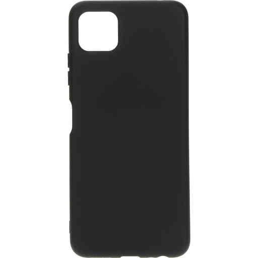 Mobiparts Silicone Cover Samsung Galaxy A22 5G (2021) Black