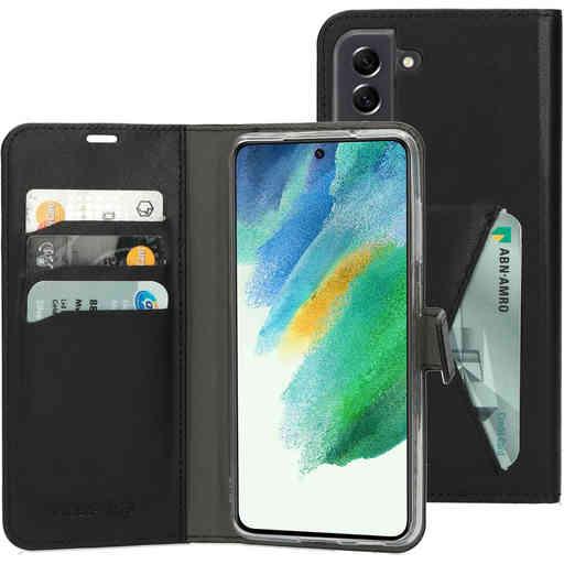 Mobiparts Classic Wallet Case Samsung Galaxy S21 FE (2021) Black