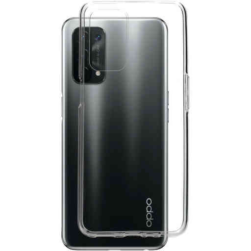 Mobiparts Classic TPU Case Oppo A54/A74 5G Transparent