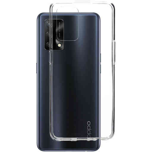 Mobiparts Classic TPU Case Oppo A74 4G Transparent