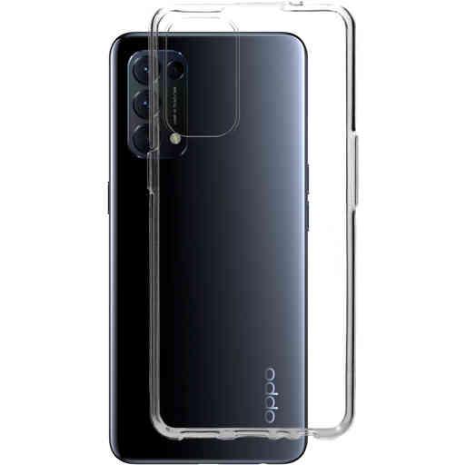 Mobiparts Classic TPU Case Oppo Find X3 Lite Transparent
