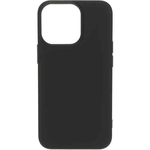 Mobiparts Silicone Cover Apple iPhone 13 Pro Black