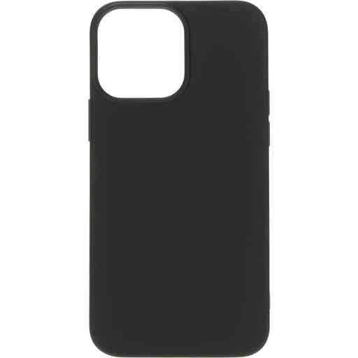 Mobiparts Silicone Cover Apple iPhone 13 Pro Max Black