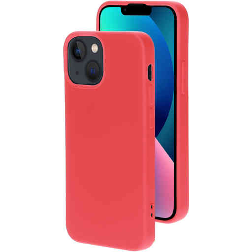 Mobiparts Silicone Cover Apple iPhone 13 Mini Scarlet Red
