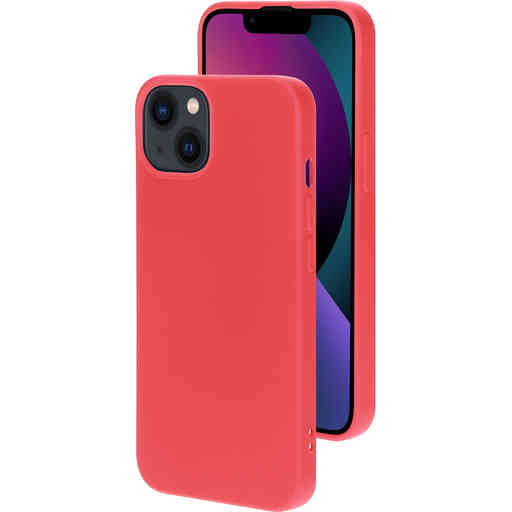Mobiparts Silicone Cover Apple iPhone 13 Scarlet Red