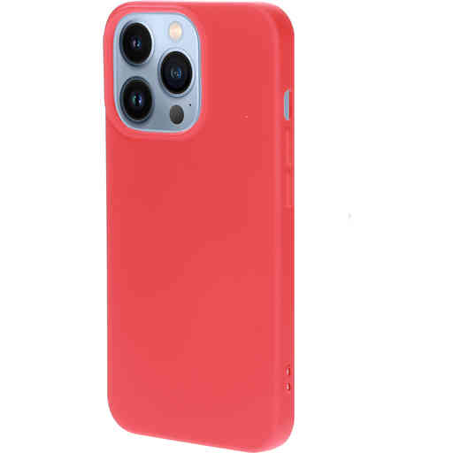 Mobiparts Silicone Cover Apple iPhone 13 Pro Scarlet Red