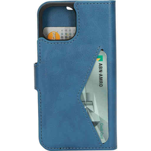 Mobiparts Classic Wallet Case Apple iPhone 13 Mini Steel Blue